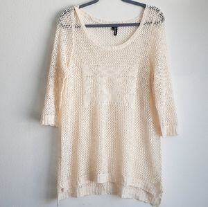 Maurices knit cream sweater